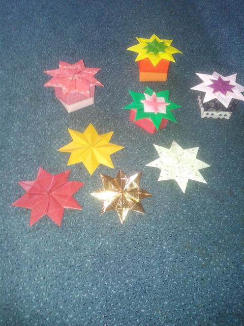 Making A Paper Ninja Star | How To Make A Paper Ninja Star ... | 640x480